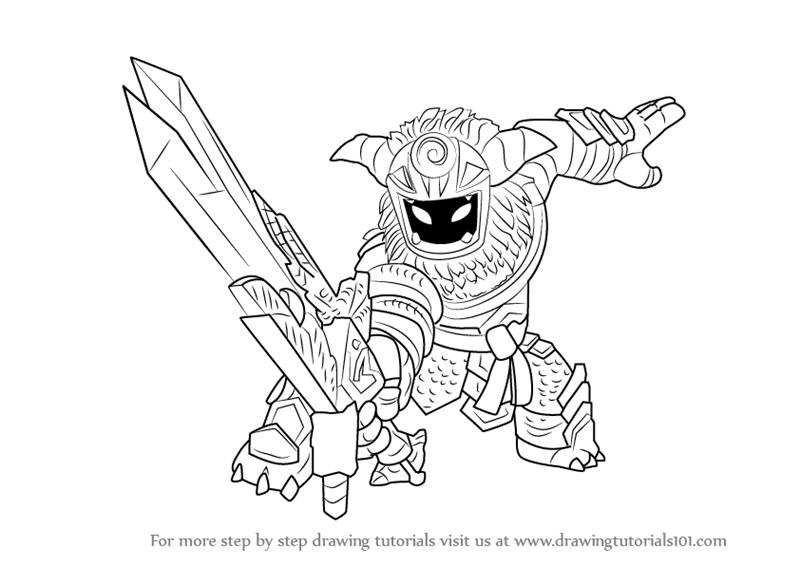 800x566 Learn How To Draw Wild Storm From Skylanders (Skylanders) Step By