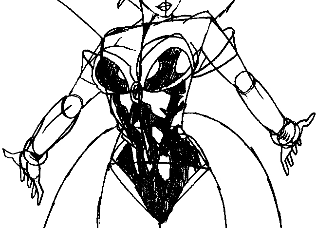 651x468 Step 10 Drawing Storm From Marvel's X Men Superhero Team Easy
