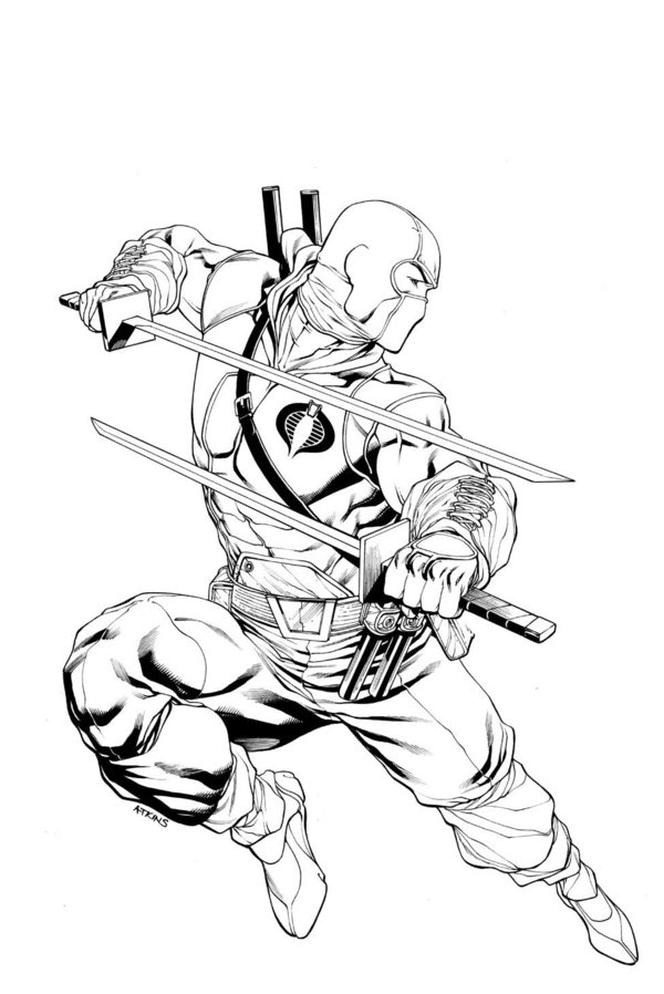 600x898 Storm Shadow Snake Eyes Cover 13 By Robertatkins