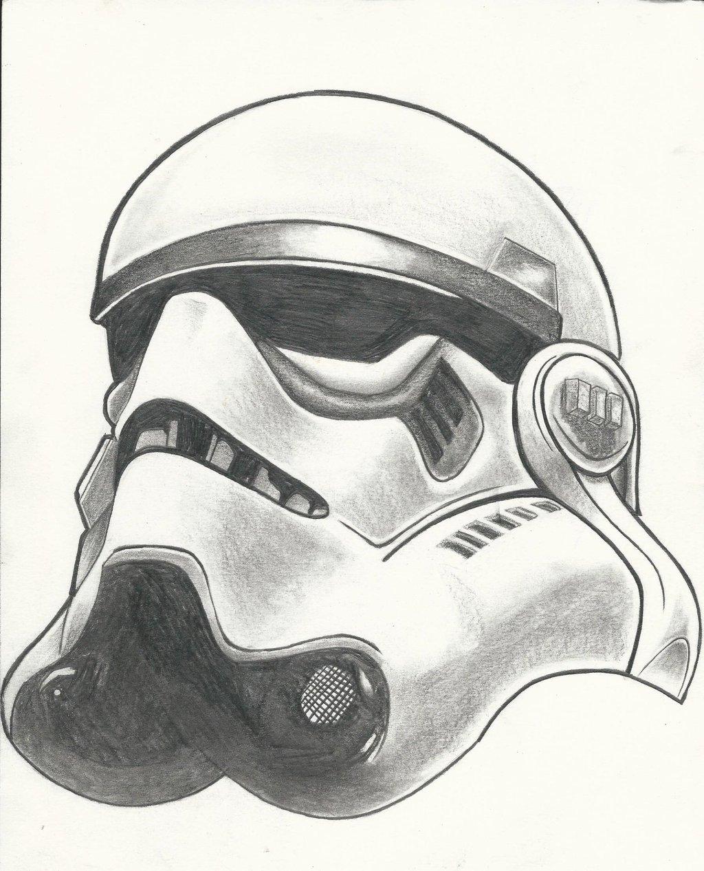 Stormtrooper Drawing at GetDrawings | Free download