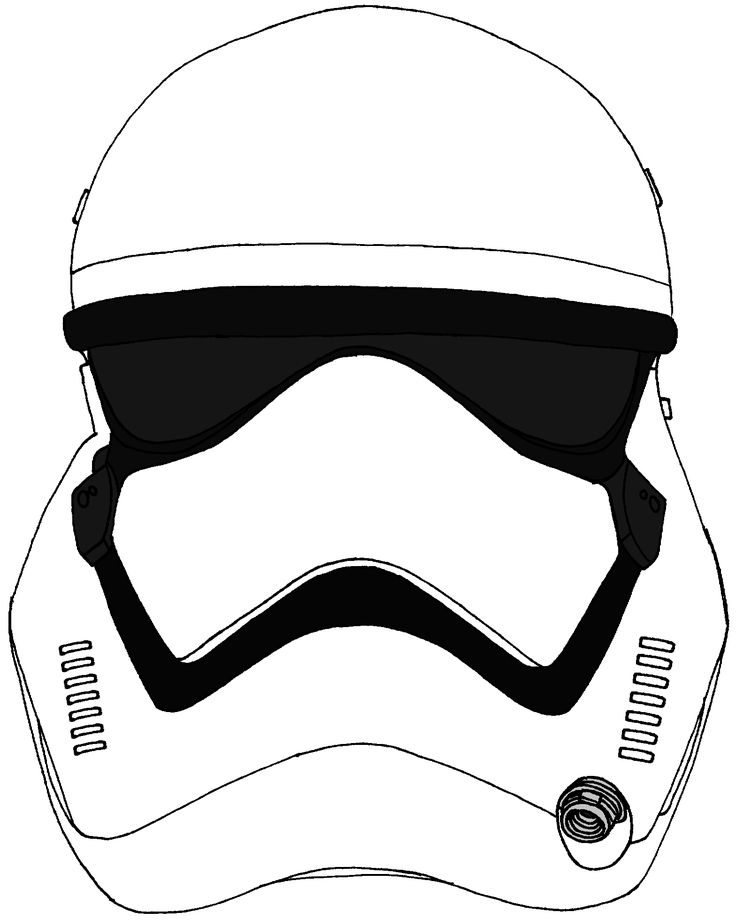 Stormtrooper Drawing Helmet