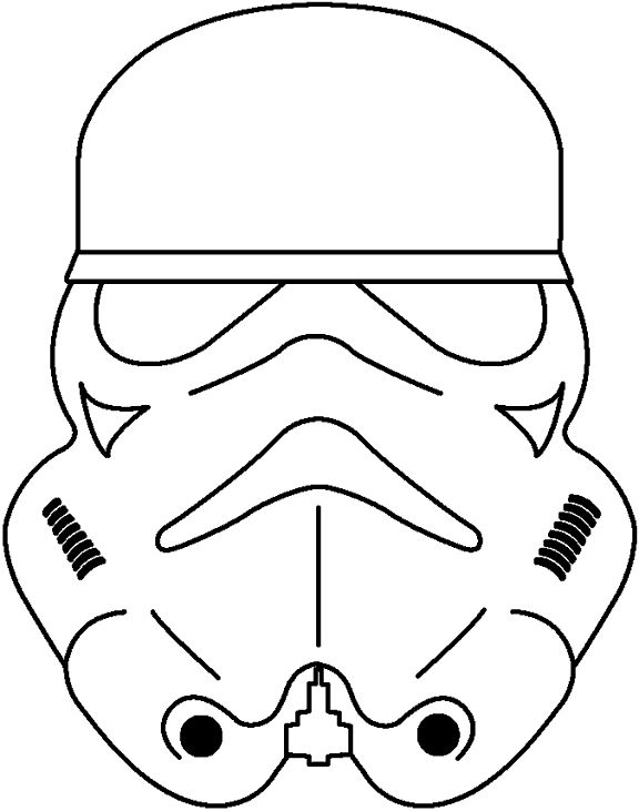 576x731 Stormtrooper Coloring Pages