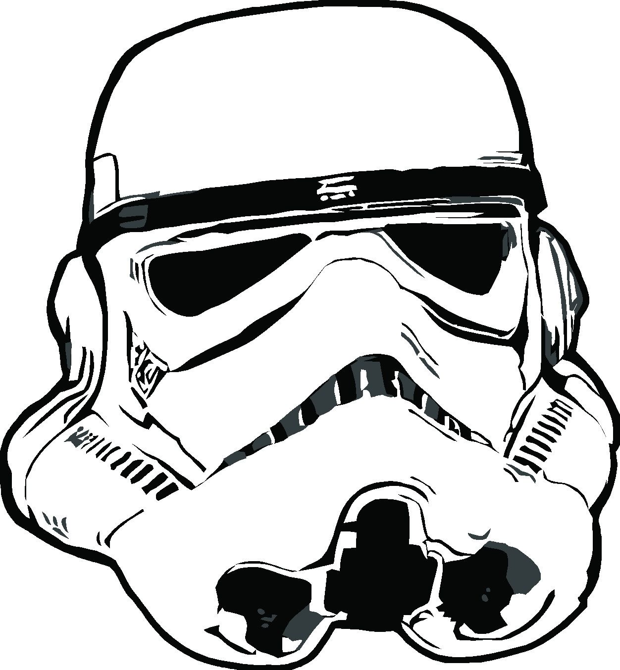 1252x1354 Themes Stormtrooper Helmet Drawing Tutorial With Drawing