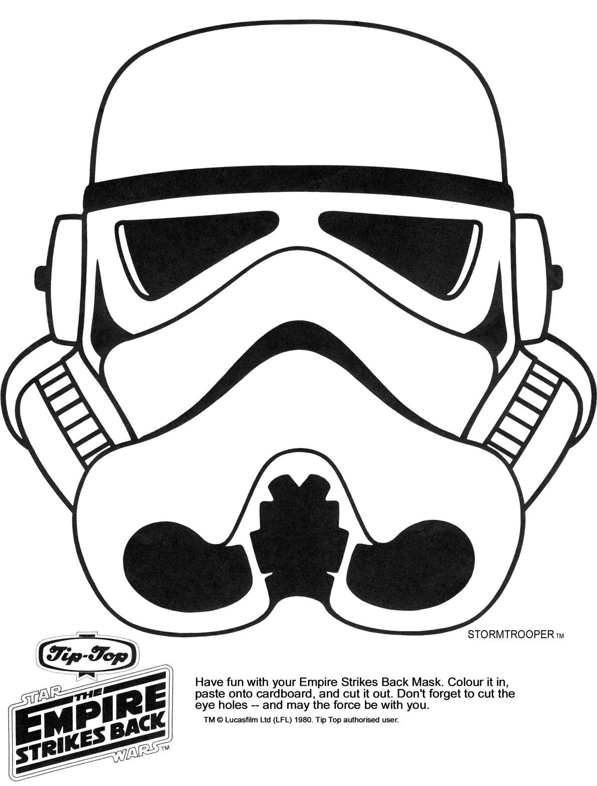 Stormtrooper Line Drawing