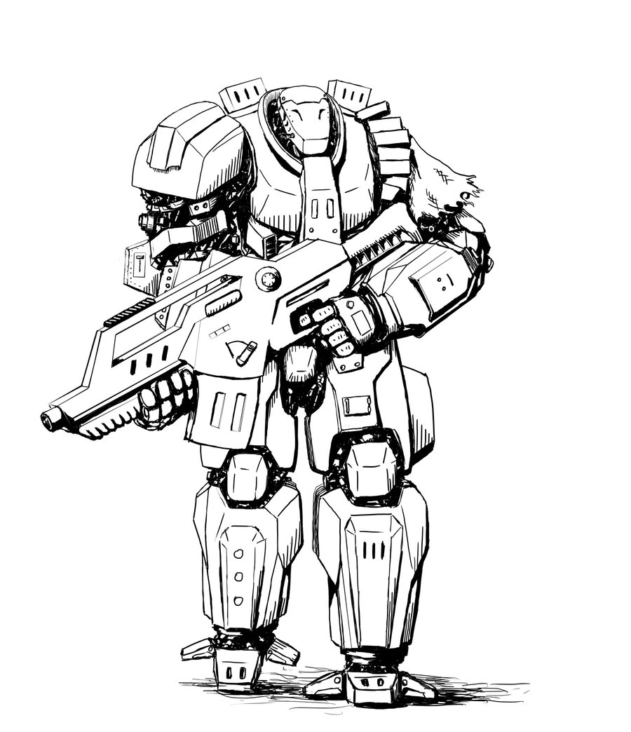 Stormtrooper Line Drawing at GetDrawingscom Free for personal use