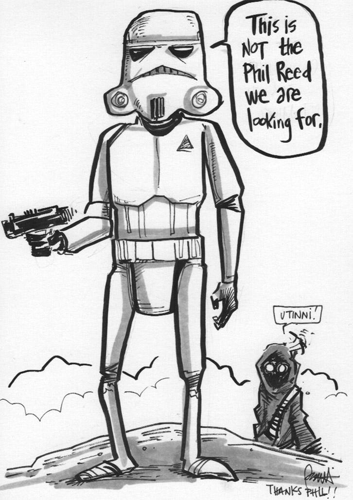 726x1029 Stormtrooper Illustration From Len Peralta!