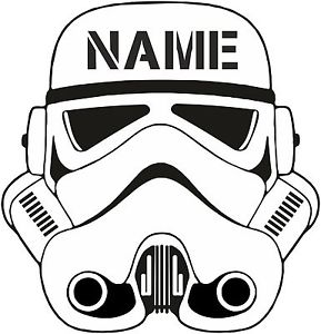 289x300 Personalised Stormtrooper T Shirt Your Name Storm Trooper Finn