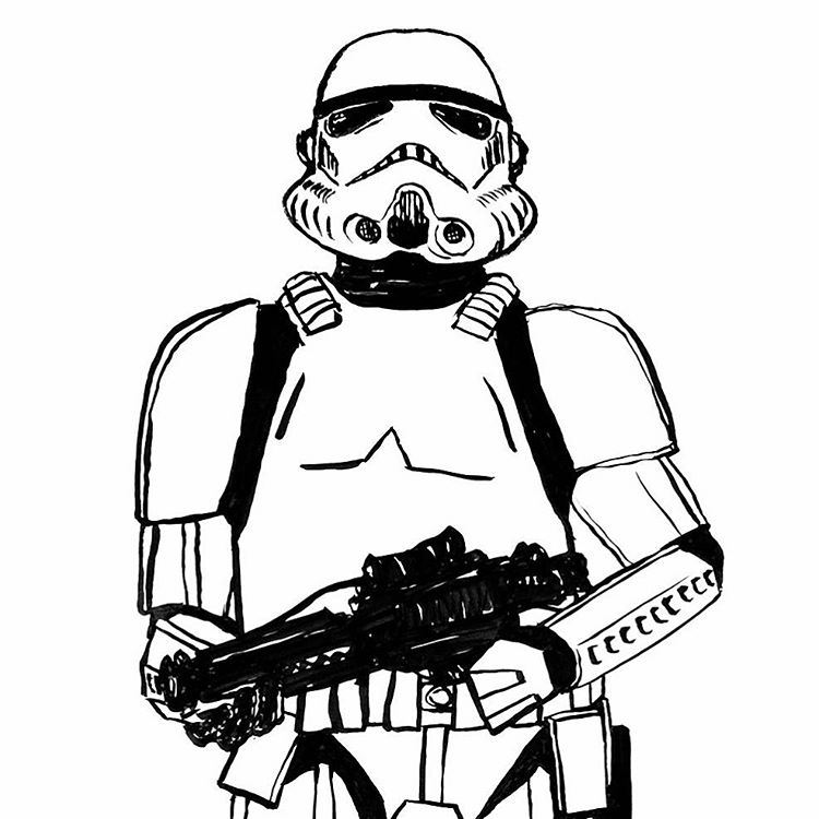750x750 Themes Stormtrooper Helmet Drawing Tutorial Plus Stormtrooper