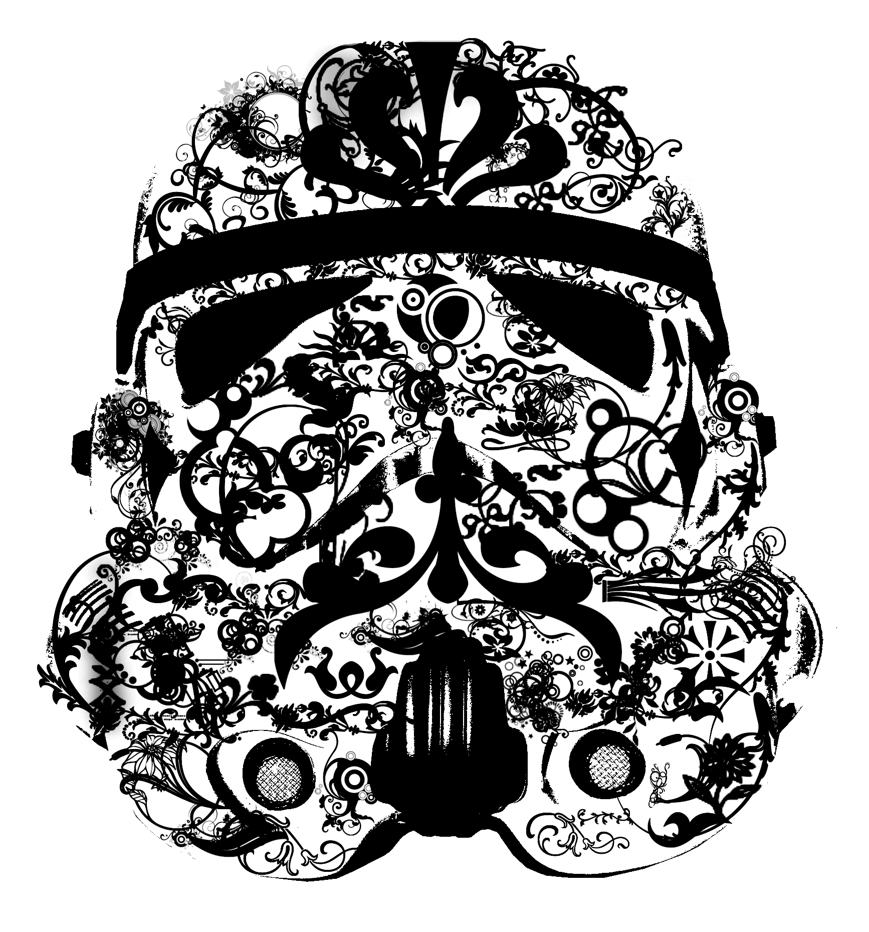 Stormtrooper Mask Drawing at GetDrawings com | Free for personal use