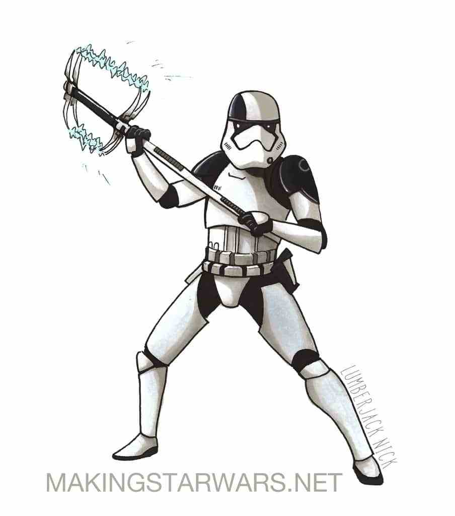 904x1024 Making Star Wars Accurate Captain Phasma, Executioner