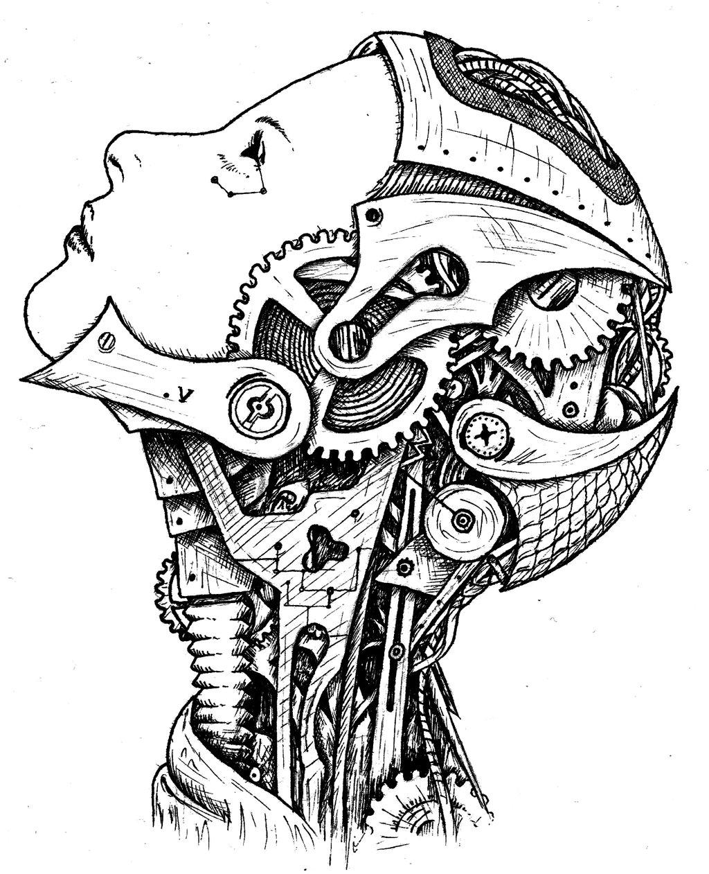 1024x1261 I, Robot By Mg Iii