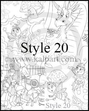 288x360 Kid'Schildren Storybook Illustrations, Drawing Cartoon Pictures