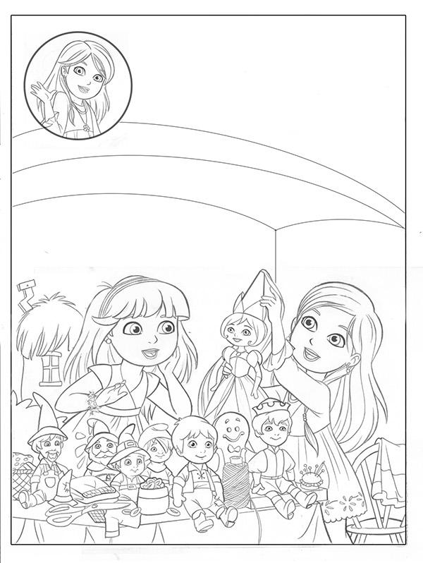 600x798 Meet Kate! Read Along Storybook Dora And Friends