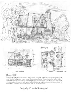 236x305 A Storybook Homes Custom Design By Samuel Hackwell Amp Andy Perkins