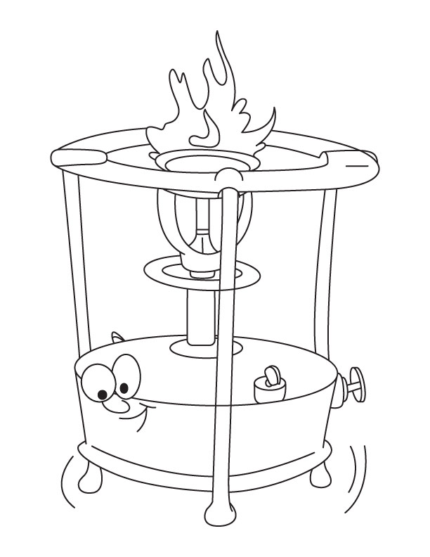 612x792 Stove Coloring Pages