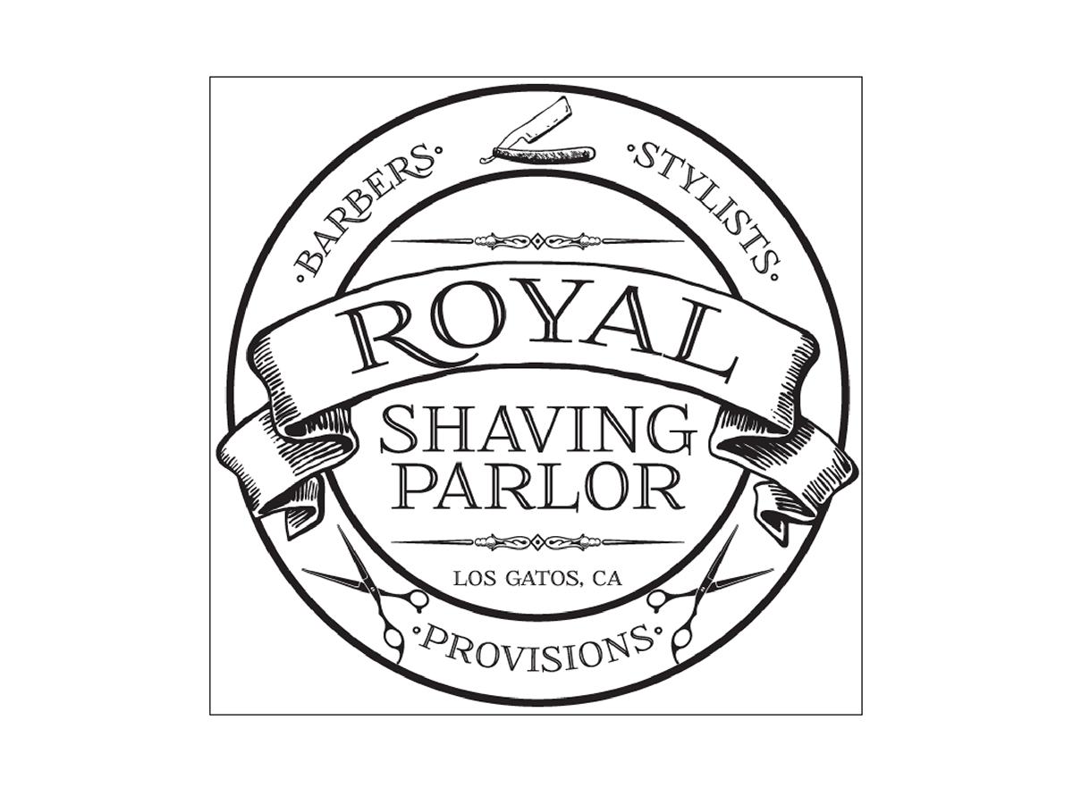 1200x900 Royal Shaving Parlor Logo On Behance