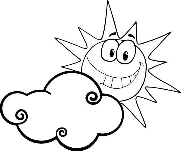 600x502 Best Of Cloud Coloring Page Images Clouds Stratus Cloud Pencil