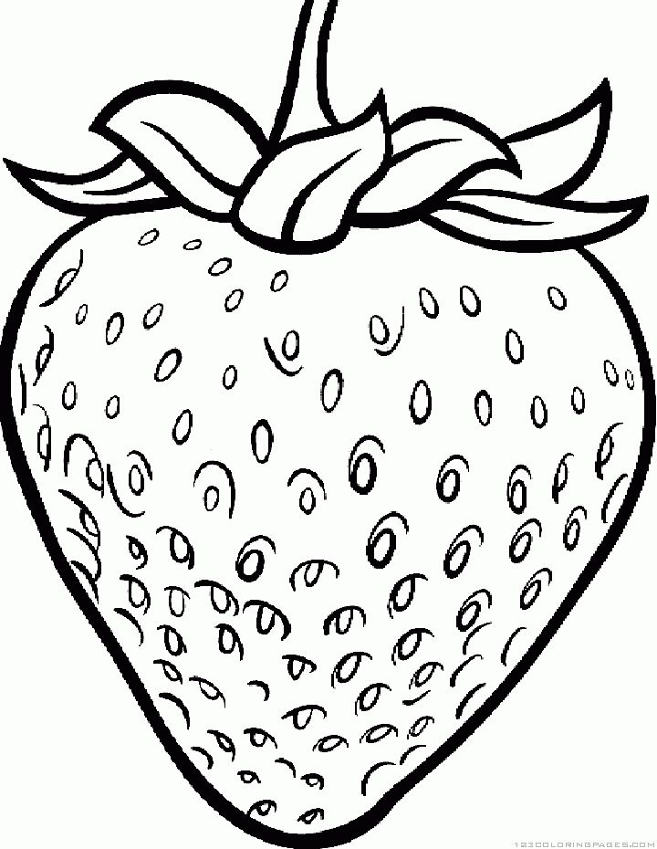 720x930 Wonderful Strawberry Coloring Page 42 With Additional Free