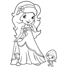 230x230 Top 20 Free Printable Strawberry Shortcake Coloring Pages Online