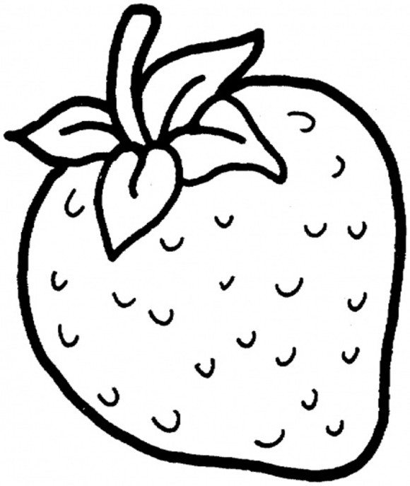 580x687 Printable Kids Coloring Pages + Fruits And Vegetables