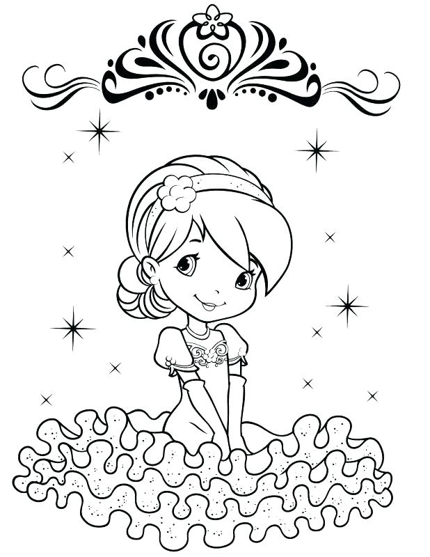 618x800 Strawberry Shortcake Coloring Book Plus 85 Strawberry Shortcake