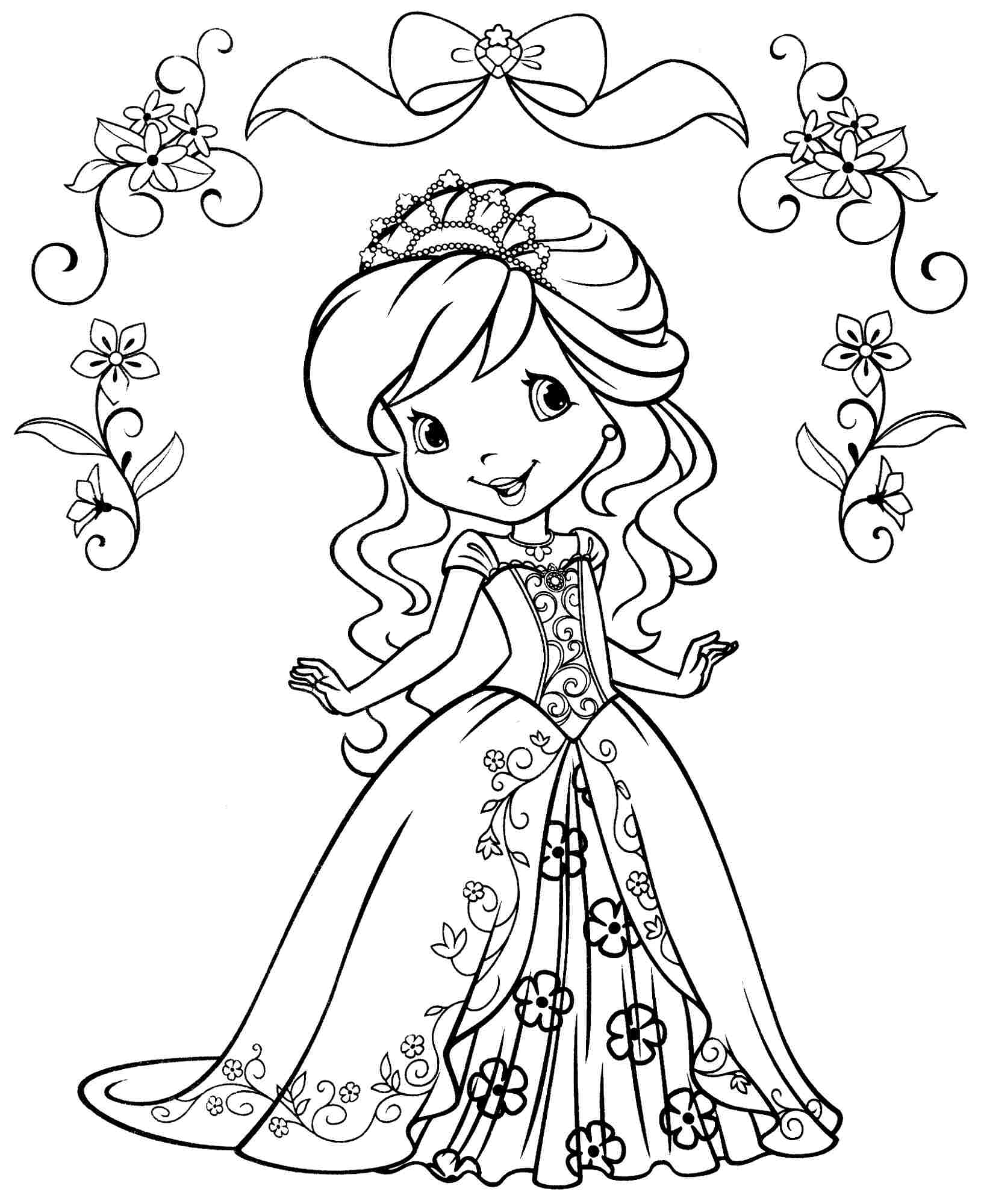 1629x2000 Coloring Pages Strawberry Shortcake Coloring Pages 2 Best Free