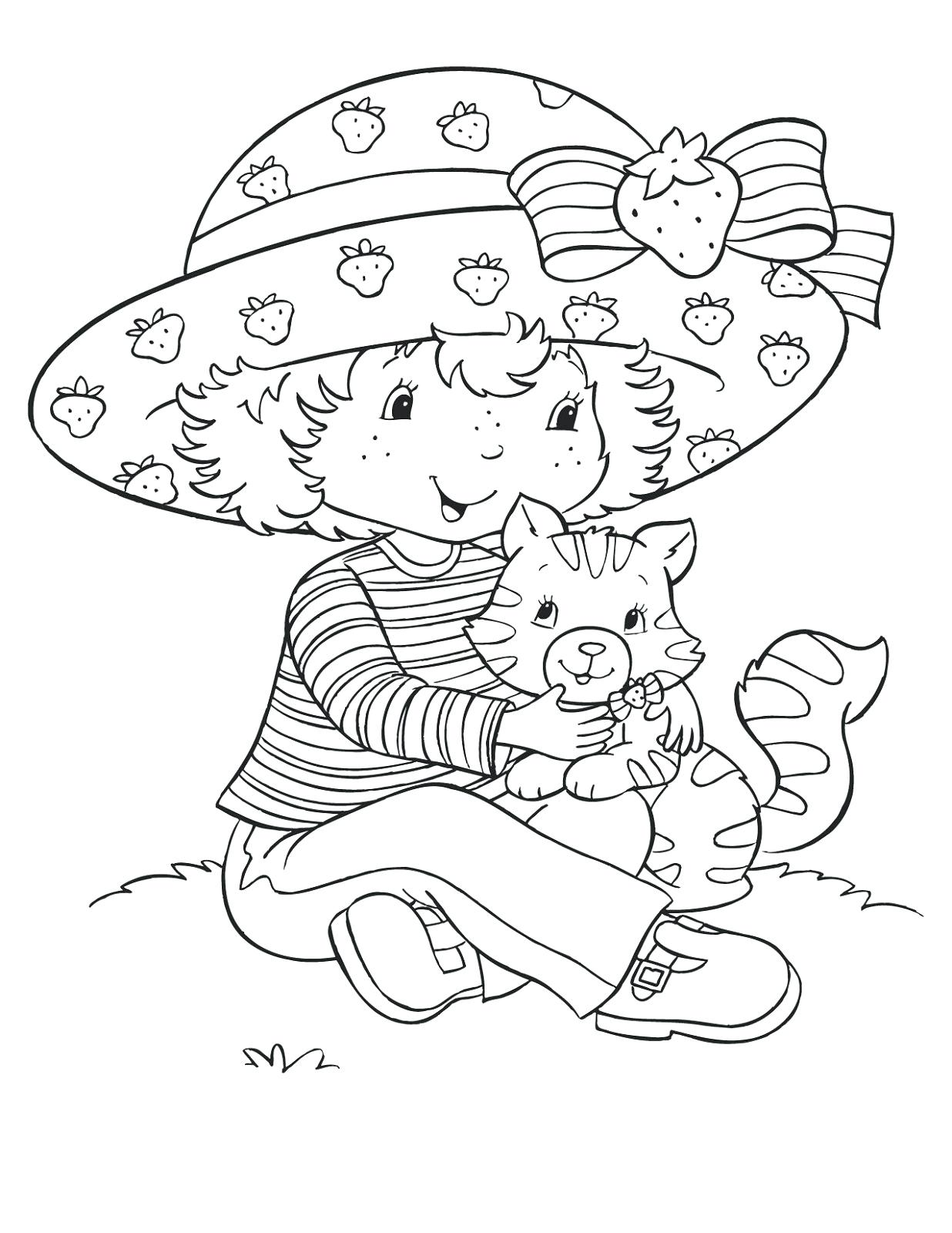1236x1600 Coloring Coloring Pages Strawberry