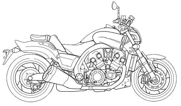 596x351 Yamaha Vmax Streetbike