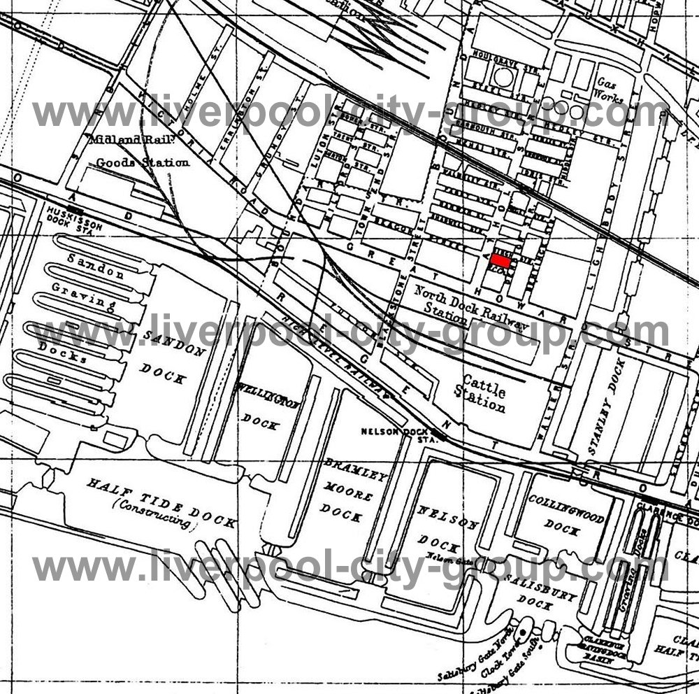 1000x992 Liverpool Street Map A To Z 1901