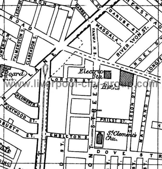 560x581 Liverpool Street Map A To Z 1901