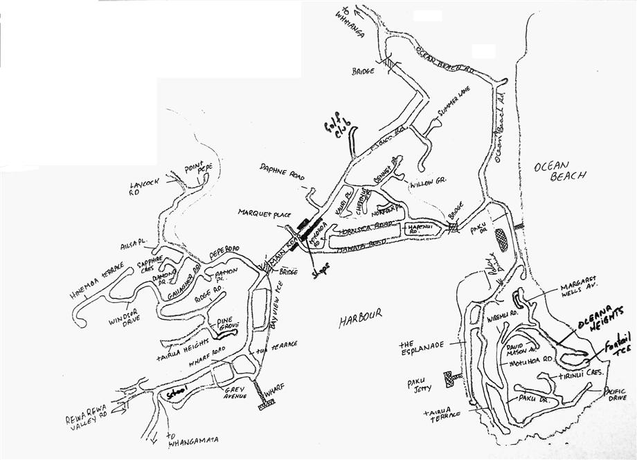 920x665 Tairua Map Welcome To Harcourts Tairua