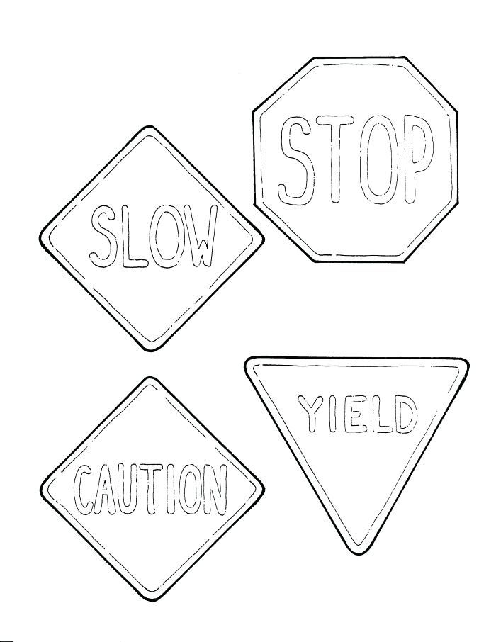 700x906 Street Sign Coloring Pages Free Printable Traffic Signs Signs