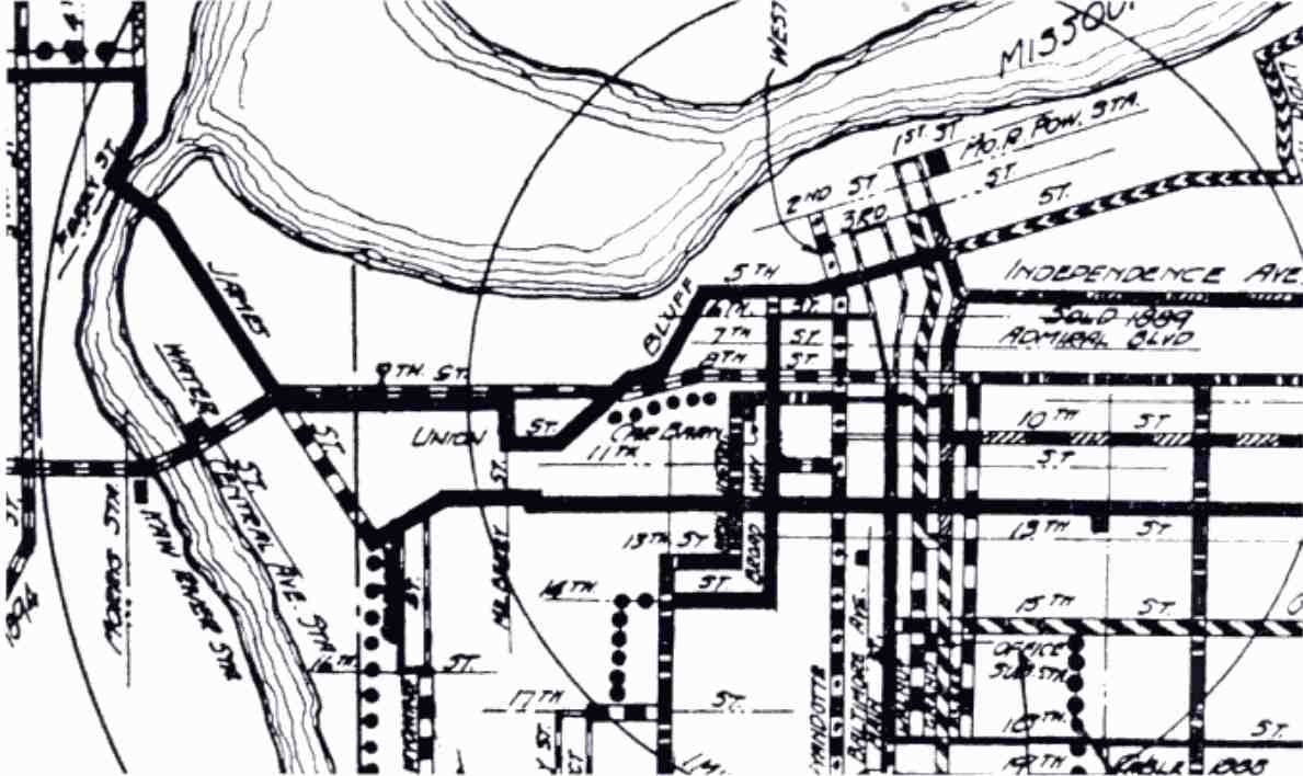 1189x708 Filedetail From The Kansas City Missouri Streetcar Route Map