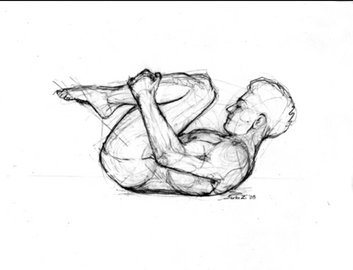 719x550 Double Leg Stretch Pilates