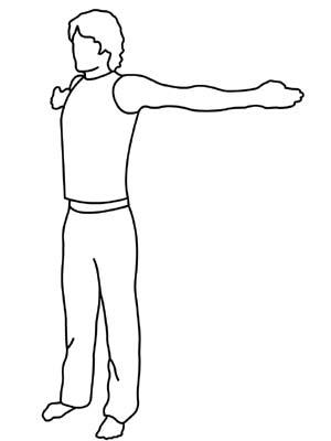 300x400 House Gymnastics How To Preparation Chest Stretch