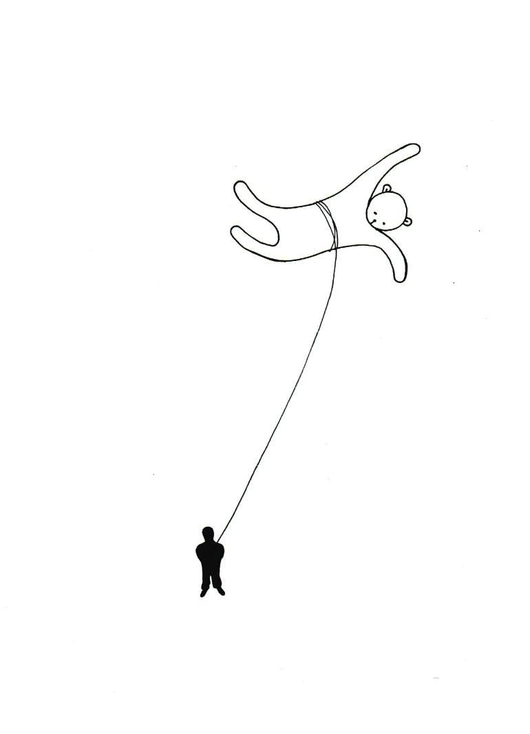 770x1066 Saatchi Art Tira De La Corda {Pull The String} Drawing By Lali