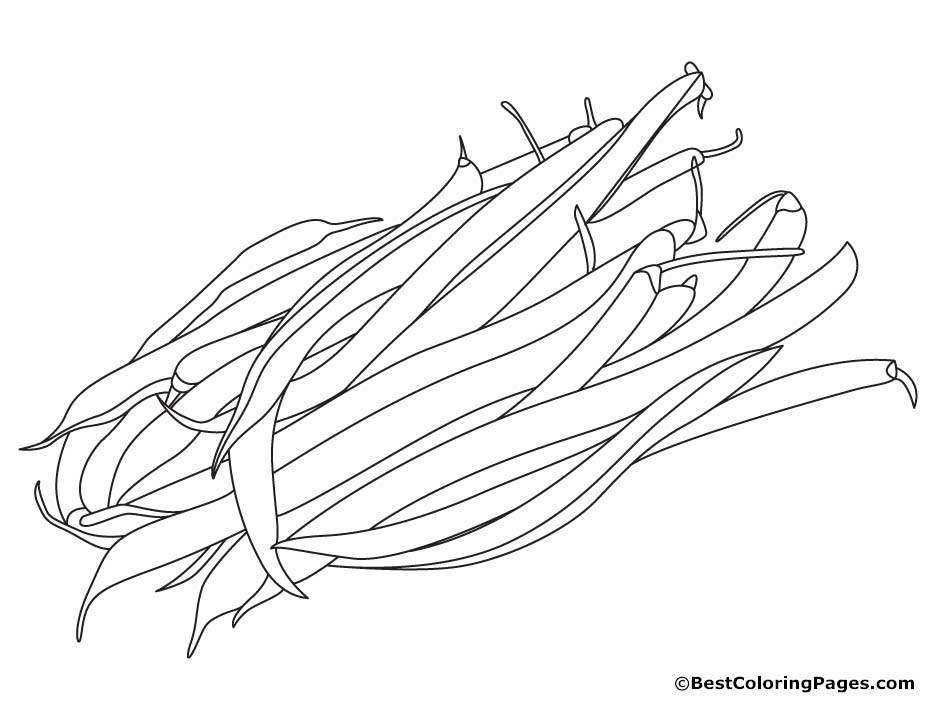 936x720 String Beans Coloring Pages Download Free String Beans Coloring
