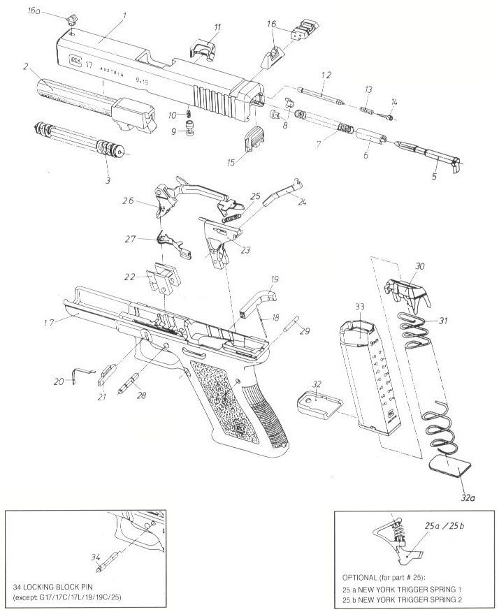 714x876 Glock Strip Drawing
