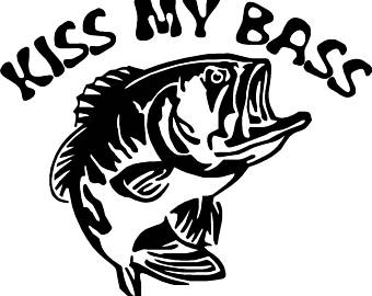 340x270 Striped Bass Decal Striped Bass Sticker