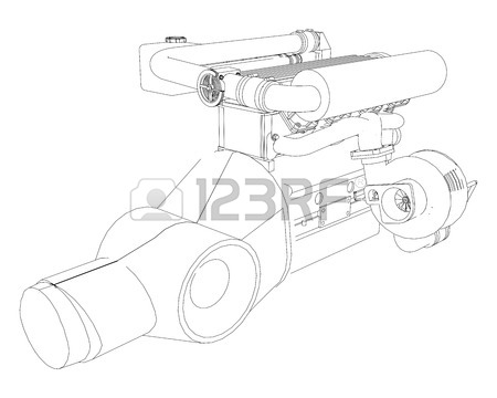 450x360 Four Stroke Engine Stock Photos. Royalty Free Business Images