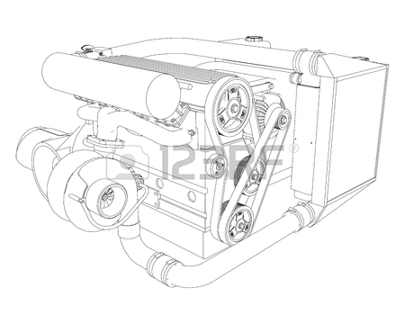 450x360 83 Four Stroke Engine Stock Illustrations, Cliparts And Royalty