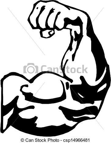 364x470 Tough Arm Clip Art Strong Arm Clipart Man's Arm. Vector