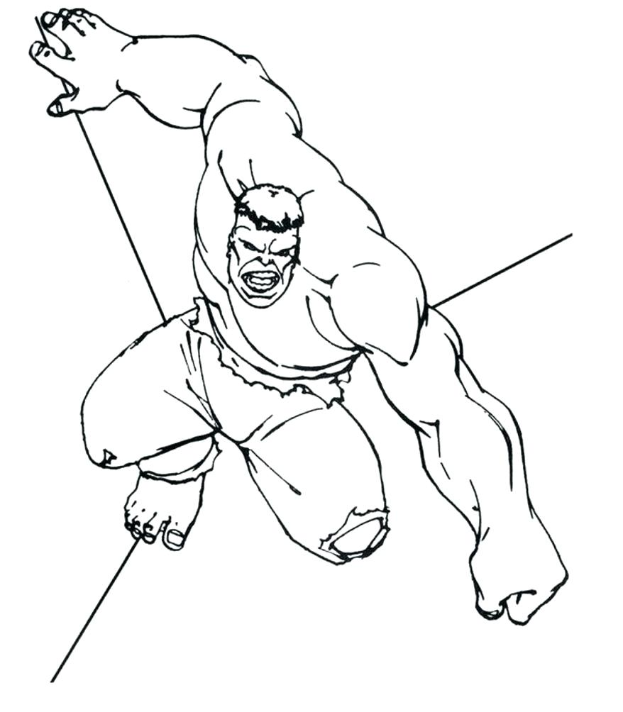878x1004 Coloring Incredible Hulk Coloring Pictures The Strong Man Pages