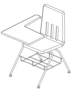 236x306 Orb Desk Revit Models Desks