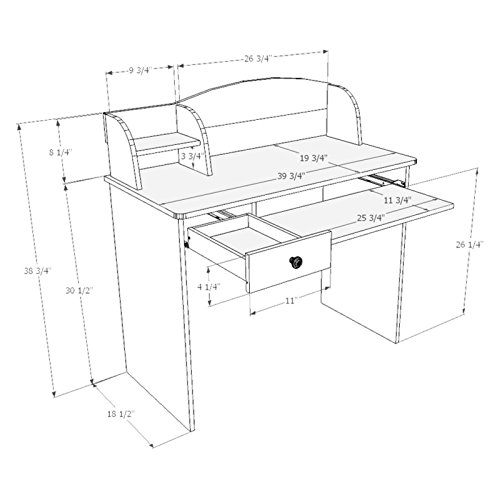 500x500 Alegria Student Desk