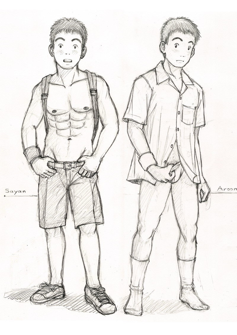 800x1132 Divided Student Uniform Sketch By Cocon