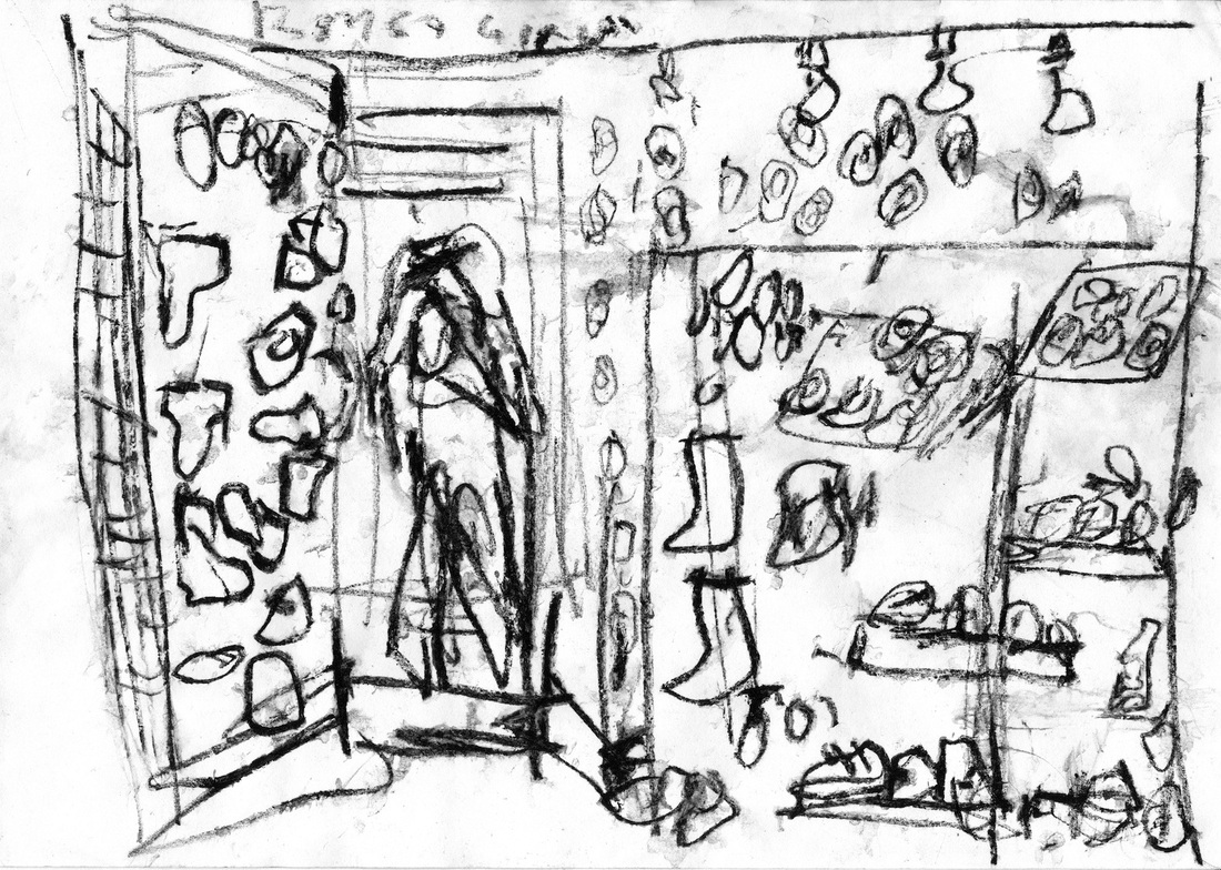 1100x784 Drawings From The Studio