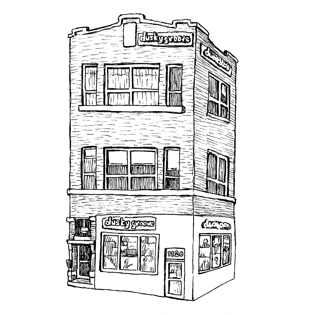 1024x1024 Image Result For Record Store Drawing Studio Art Drawing