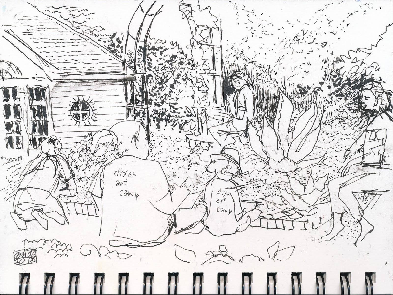 1600x1205 Urban Sketchers Memphis Sketching