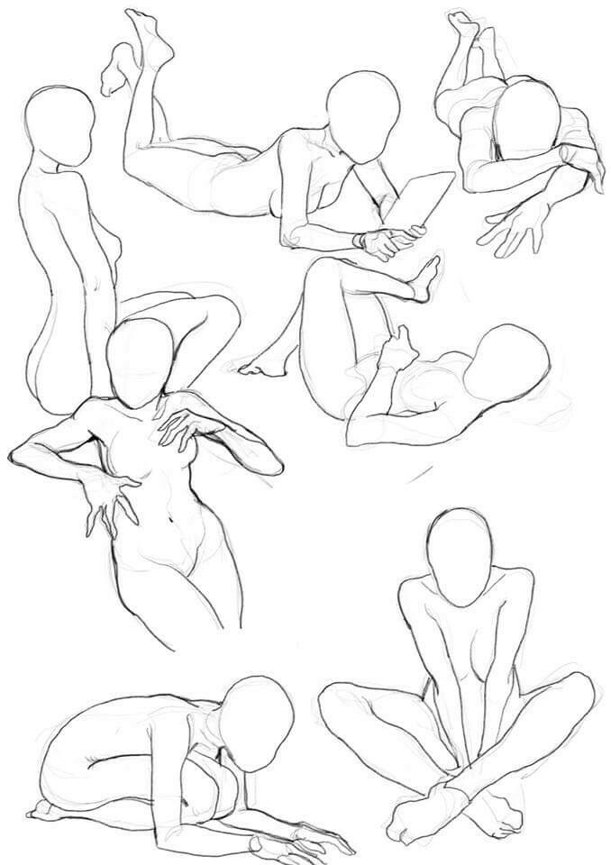 678x960 Female. Pose Reference Female Poses, Pose And Drawings
